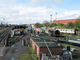 Kidderminster Carriage Shed Yard - click to open larger image in a new window